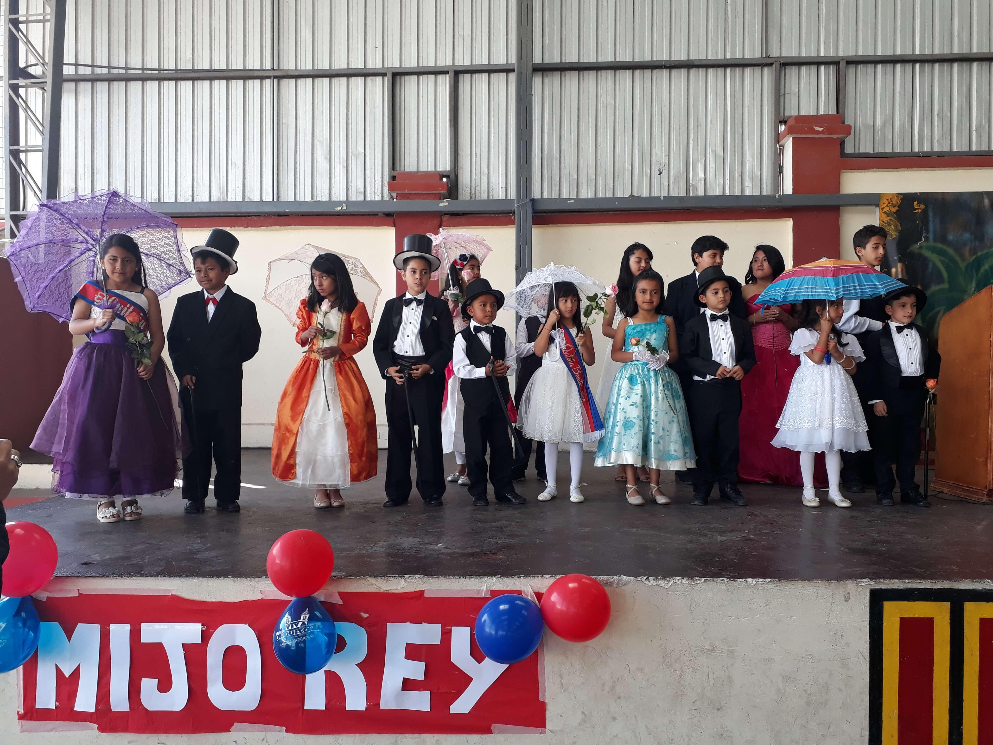 Celebración por Fiestas de Quito