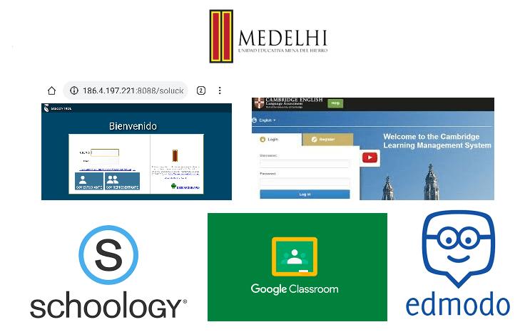 Plataformas para el aprendizaje de los estudiantes